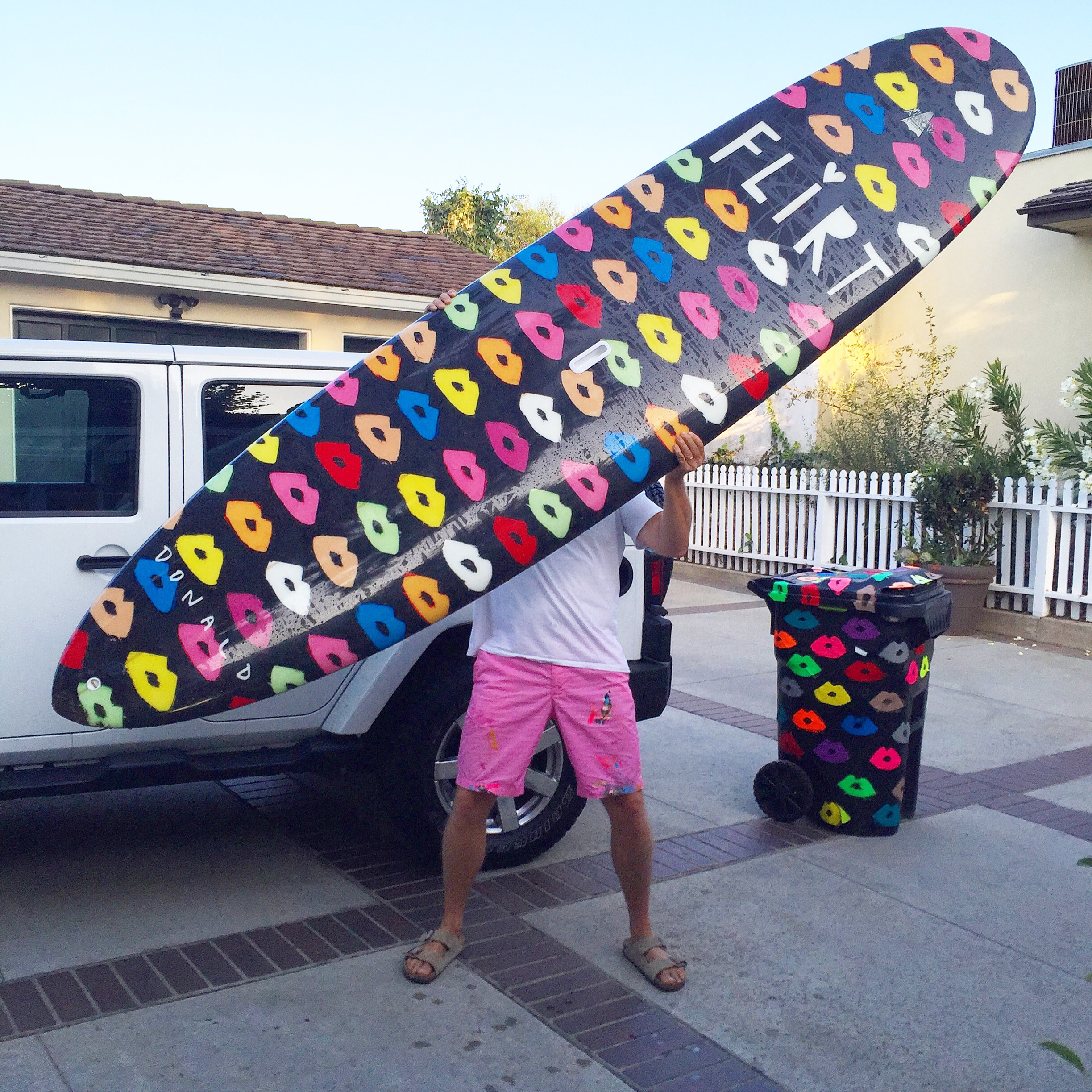 Donald Drawbertson Flirt Surfboard Design